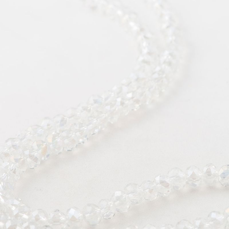 Cristal alb discuri fatetate 6 mm - magazinuldepietre.ro