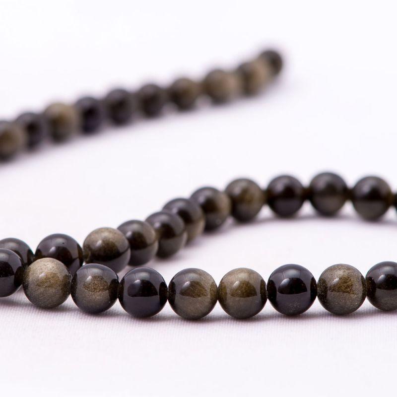 Obsidian sfere 6 mm