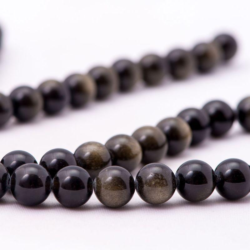 Obsidian sfere 9 mm