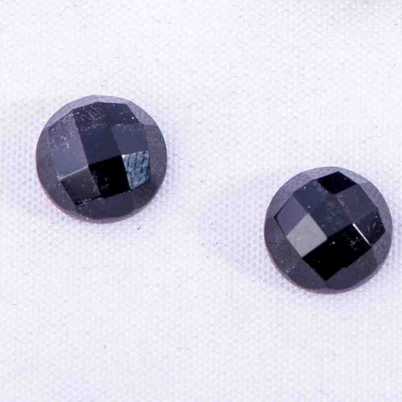 Cabosoane onix rotund fatetat 8 mm - 5 per - magazinuldepietre.ro