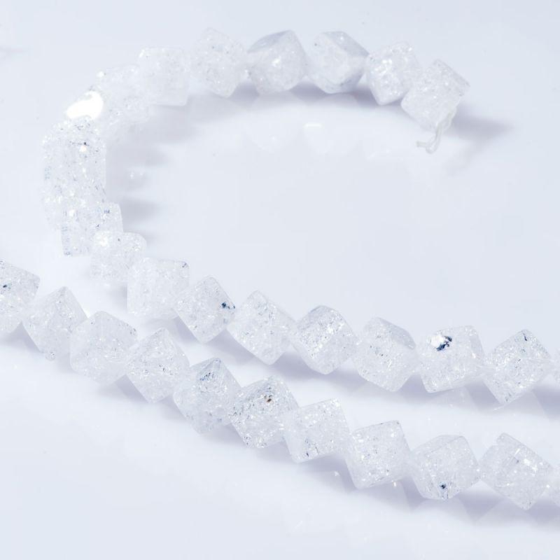 Cristal gheata cuburi 6 mm diagonala