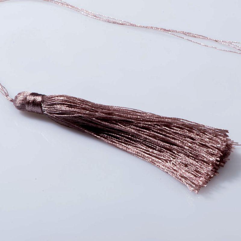 Ciucure 8.5 cm roz crem - 3 buc