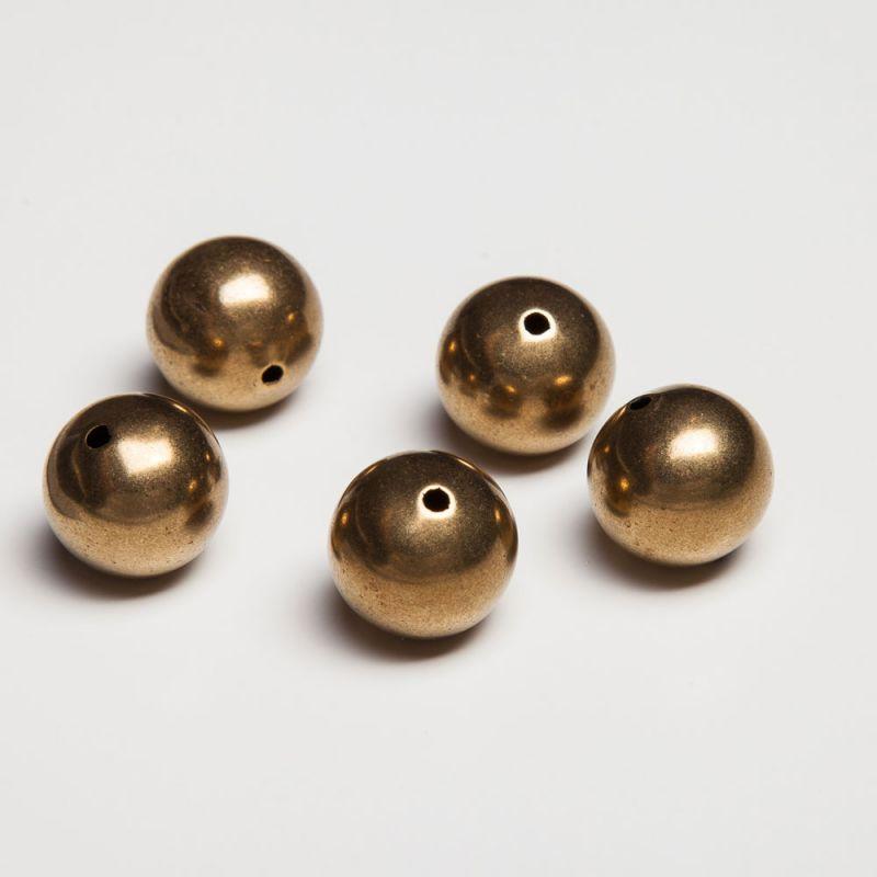 Bile aurii 16 mm HQP - 2 buc