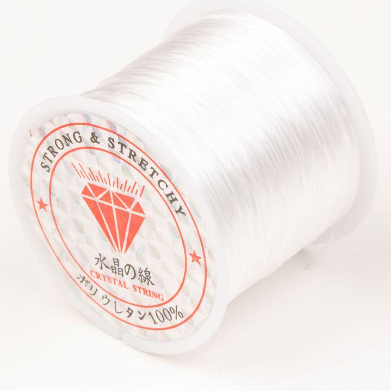Rola guta elastica 60 m alb