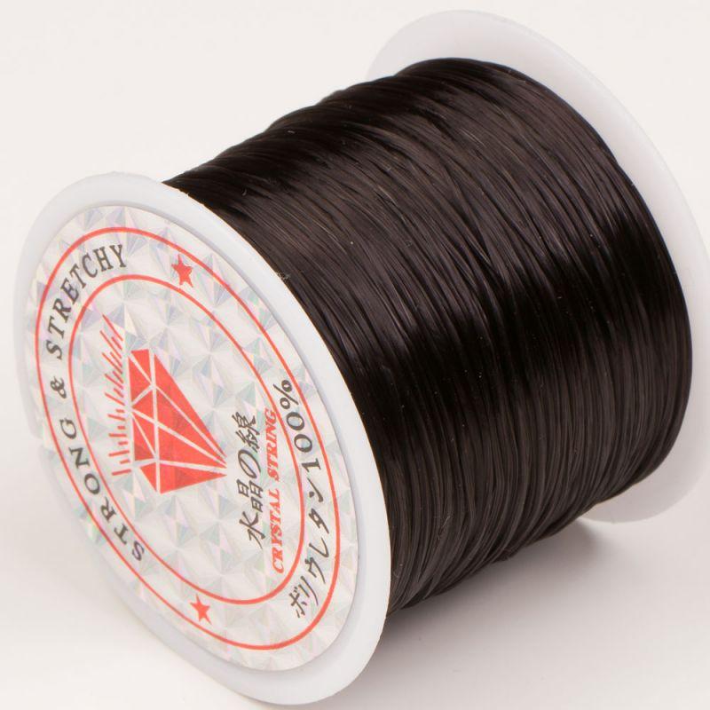 Rola guta elastica 60 m negru