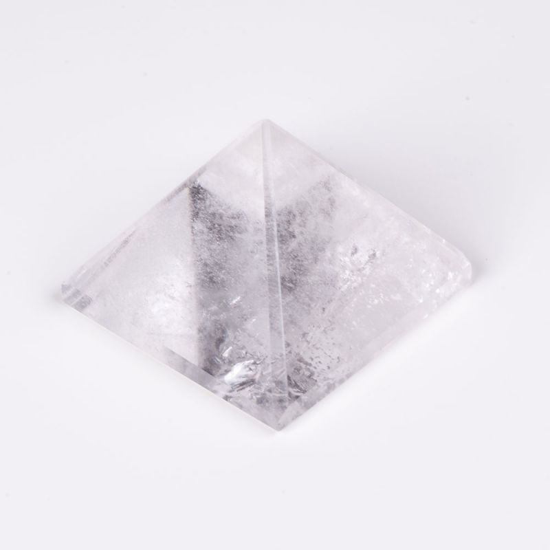 Geoda cristal stanca piramida baza 5.3 cm 120 g
