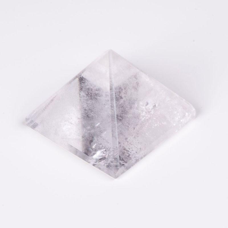 Geoda cristal stanca piramida baza 5.3 cm 140 g