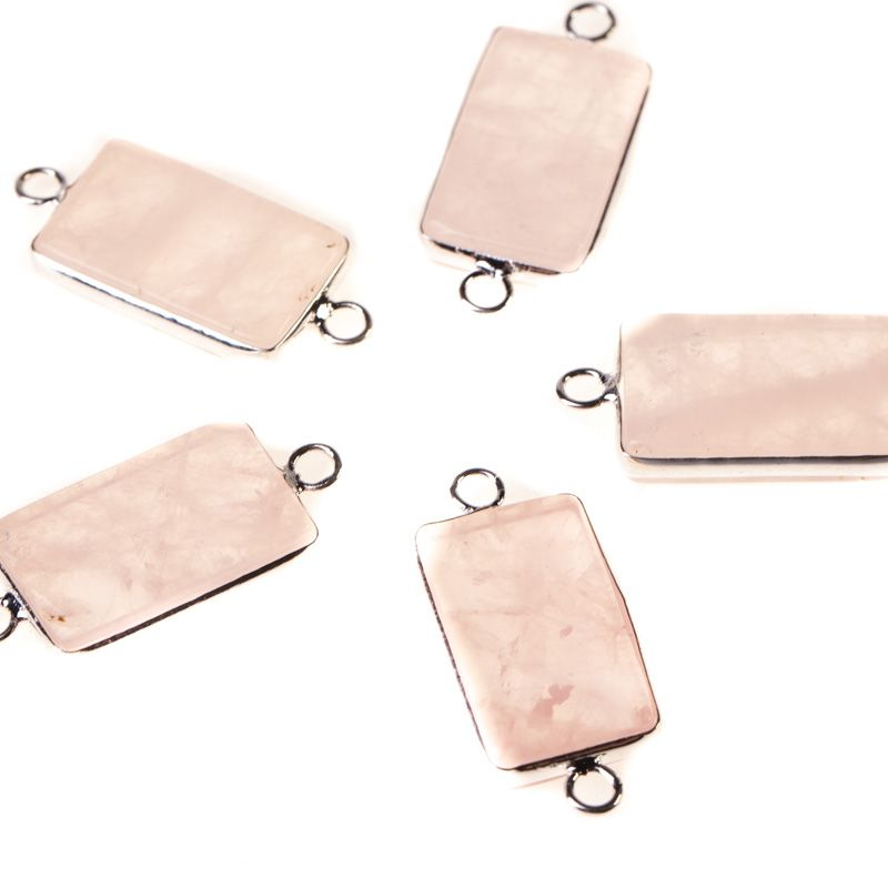 Cuart roz link 13x21 mm