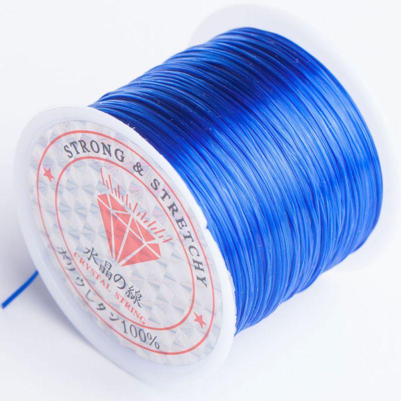 Rola guta elastica 60 m albastru