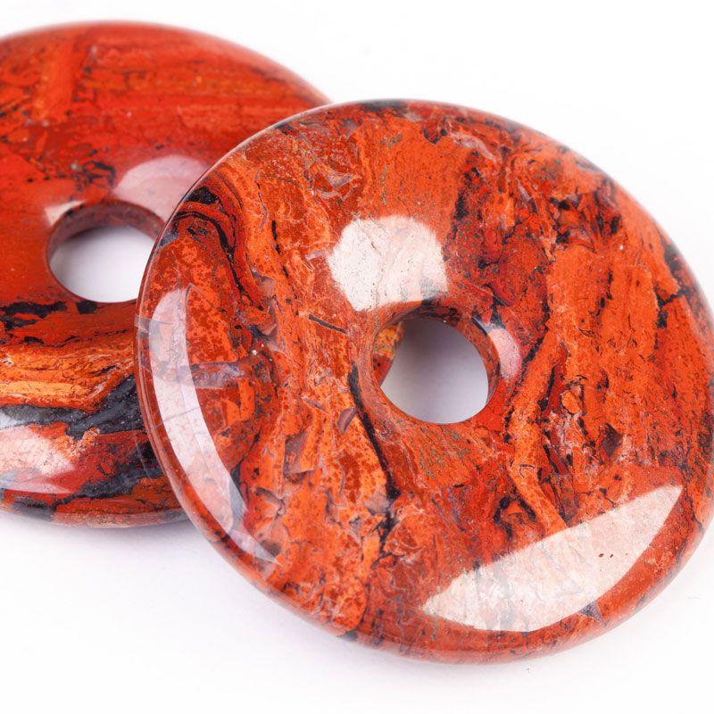 Jasp egiptean donut 40 mm