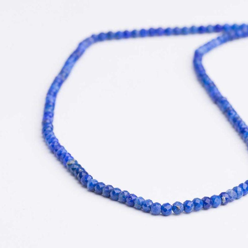 Lapis lazuli discuri fatetate 3 mm