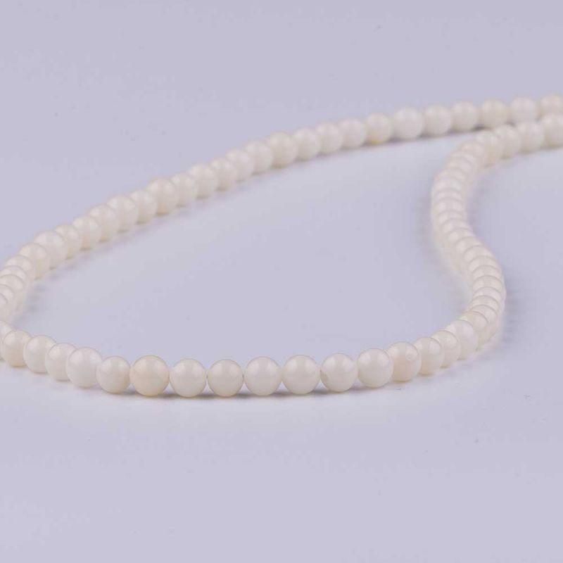 Coral alb sfere 5 mm