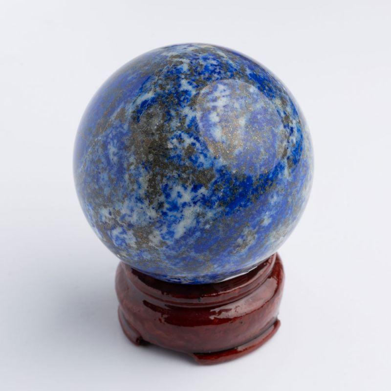 Geoda lapis lazuli sfera 60 mm - magazinuldepietre.ro