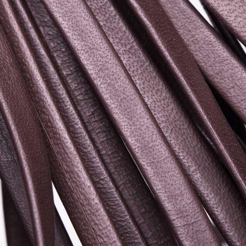 Banda piele maro 1,5x5 mm - 1 m