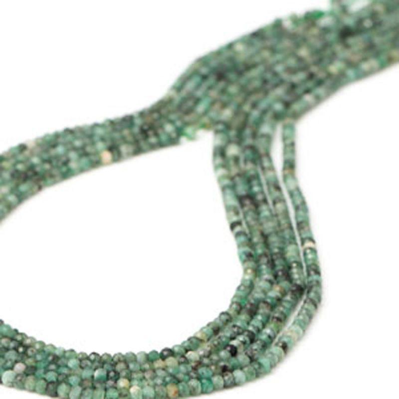 Smarald discuri fatetate 3 mm - magazinuldepietre.ro