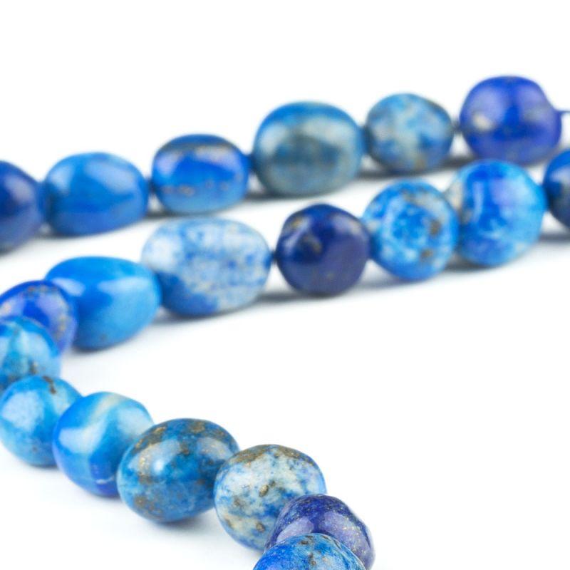 Lapis lazuli forme neregulate 9-11 mm