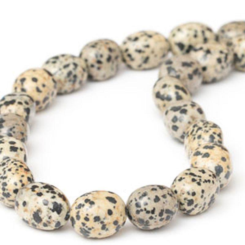 Jasp dalmatian forme neregulate 13-15 mm - magazinuldepietre.ro