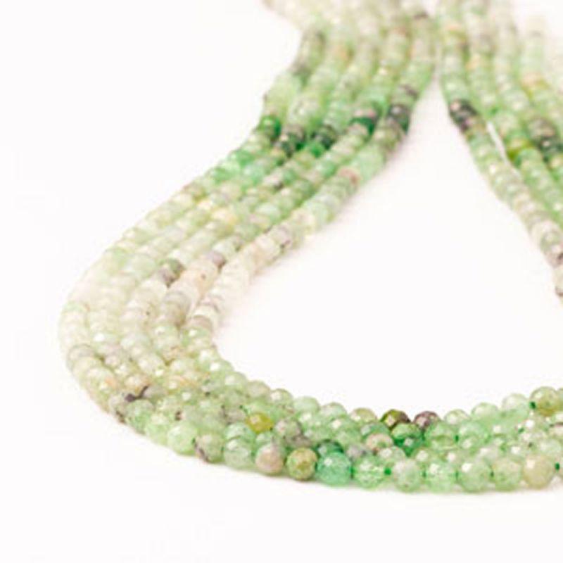 Smarald degrade sfere fatetate 4 mm - magazinuldepietre.ro